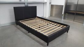 Small Double Bed Frame with Foldable Sides for easy transport