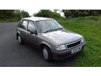 Vauxhall Nova 1991 Jreg 5 door Grey
