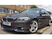 BMW 5 Series 3.0 530d M Sport 2011 Diesel 8 Speed Auto 8 Gears 19 INCH ALLOYS WIDE SCREEN £15,350