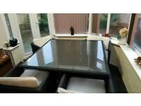4-8 Seater Rattan Outdoor Furniture