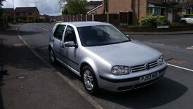 VW GOLF 1.4 MATCH ; 53 PLATE; 107400 MILES; MOT UNTIL NOV 17; Great first car; Very Reliable