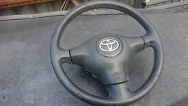 Steering wheel Toyota Yaris