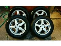 Honda civic alloys