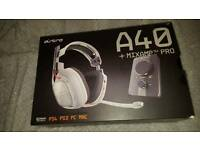 Astro a40 plus mixamp pro headset, ps4, ps3, pc, xbox one
