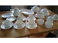 """Lincoln"" tableware crockery. Oven/freezer/microwave safe - straight to table"