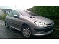 Peugeot 206 LX *5 DOOR***FULL 1 YEAR MOT - No Advisories***