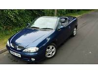 Renault Convertable 12 MONTHS MOT, 45,000 Genuine miles, FULL BLUE LEATHERS ***BARGAIN***
