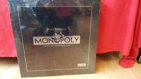 Onyx Edition Monopoly board game