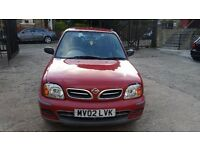 2002 NISSAN MICRA TAX AND TESTED DRIVE AWAY