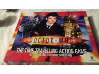 DR WHO TIME TRAVELLING BOARD GAME