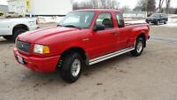 2002 Ford Ranger Edge- 111550 kms Clean, NO RUST, Saftied