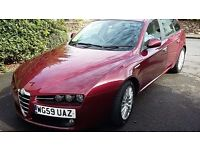 Alfa 159 Lusso estate, all leather, JTDM 170bhp model, One keeper from new - well maintained