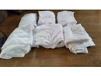 job lot king size bedding, matress protectors, quilt covers,