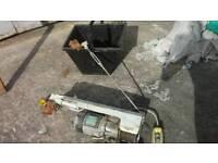 110v electric scaffold winch & skip bucket