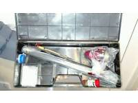 Brand new telescopic fishing rod and accessories