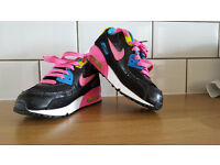 Nike Air Max girls' trainers size UK 13