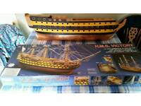MODEL OF HMS VICTORY. 1:78 SCALE