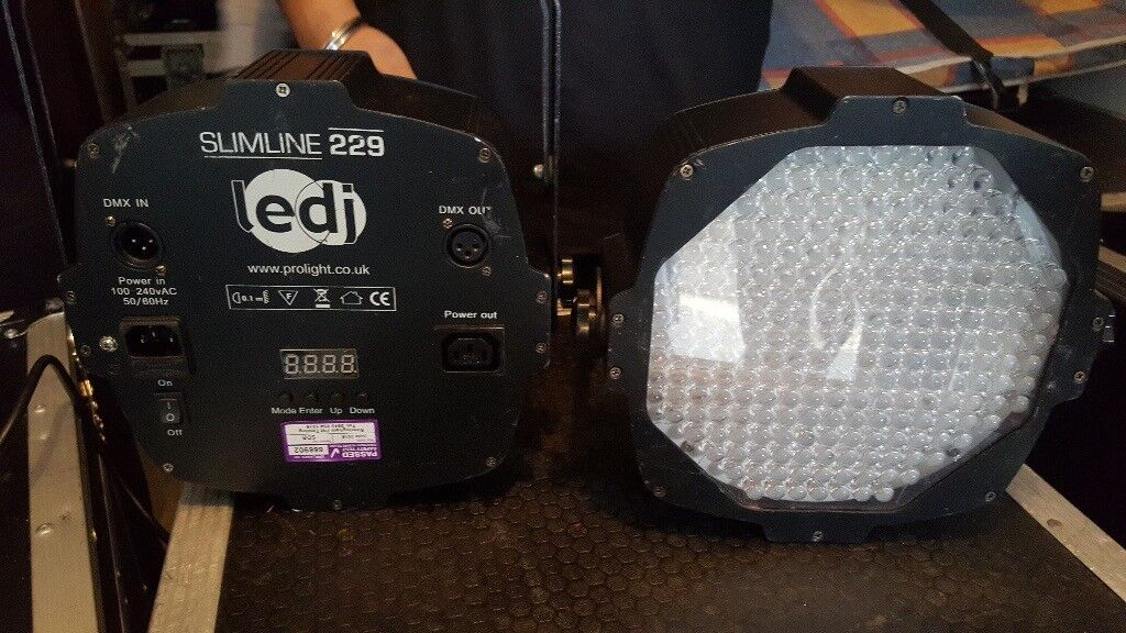 LED uplighters LEDK slimline 229