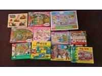 Various kids jigsaws