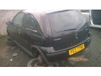 wanted 2001-2005 corsa c for breaking wanted