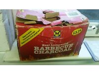 BBQ barbecue Charcoal - box of fire starters coal