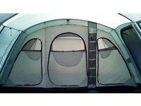 Vango Sungari 600DXL tent, carpet and footprint