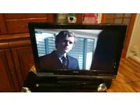 """32 """" Sony lcd TV HD ready with built-in free view."""