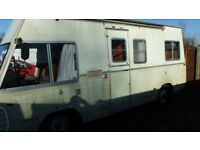 Project Mercedes 306D fully running camper Px poss no cars