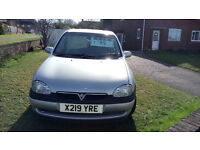 VAUXHALL CORSA 1.2 X REG (2000) FOR SALE, GREAT FIRST CAR