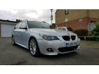 Bmw 530d msports estate fully loaded auto boot dvd cd tv