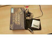 JVC Portable MiniDisc Recorder