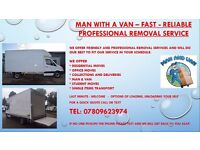 Man with a Large Luton Van - Fast, Reliable - Professional Removal Service