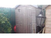 YES ITS STILL FOR SALE GARDEN SHED 6X4 APEX ROOF