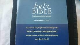 Holy Bible compact niv version cd