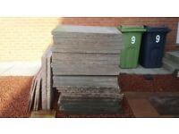 27 Concrete slabs