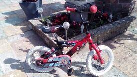 kids 14in bike