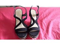 Womens new look wedge shoes size 5
