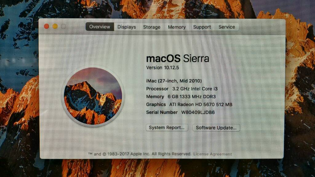iMac Intel i3 27 A1312 6GB RAM 1TBin Fulham, LondonGumtree - iMac Intel i3 27inch A1312 6GB RAM 1TBGood condition Microsoft office 2016 included.Can deliver local or post it to you