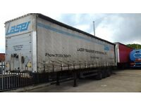 EUROLINER SCHMITS/CURTAINSIDERS/SCS24L 2002 IN YEAR CHOICE OF 2
