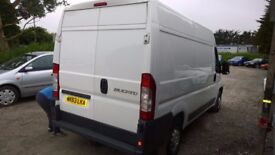 FIAT Ducato 33 Multijet MWB High Top, 2.3 Diesel, 99,000 miles, 1 Owner from New, 2013-13 plate