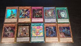 ***** Yu Gi Oh collectors cards shiny and Holo cards *****