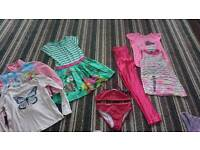 Bundle girls clothes age 5 to 7