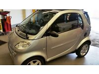 SMART CAR,ONLY 56000 Mls,2002 PULSE,SOFTTOUCH /HEATED LEATHER SEATS.RECENT MAJOR SERVICE/MOT/CLUTCH.