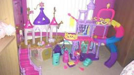 My little pony castles with twilight sparkle pony