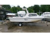 Wilson Flyer (Q8 Dory) Fishing Boat For Sale with Trailer