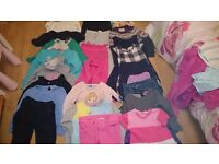 Bundle of girl clothes 7-8 years