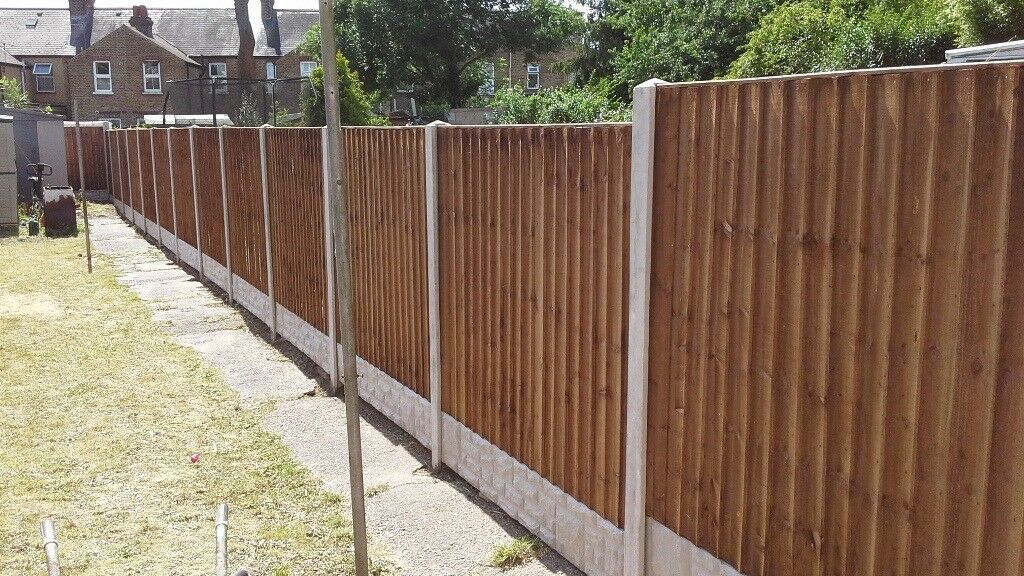 Fencing Close Board Fence Panel 6ft X 5ft Set For Only 163 89