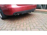 Audi A4 B8 rear difuser