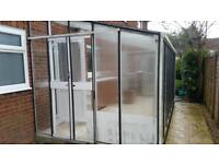 Greenhouse 16x10ft (lean to)