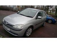 Vauxhall CORSA sxi 1.2 petrol